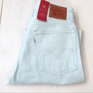 Levi's Wedgie Fit Jeans Mint Green